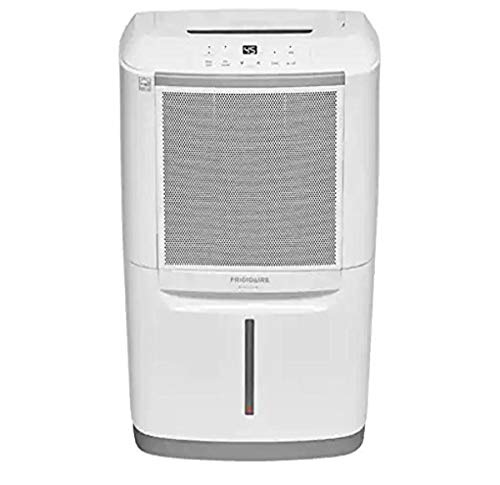Frigidaire FGAC7044U1 70 Pint Capacity Dehumidifier with Wi-Fi, White