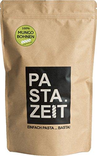 Pastazeit Bio Mungobohnen Fusilli, Low Carb Nudeln, Proteinreich, Kalorienarme Nudeln, Handgemacht, Vegan, Weizenfrei (5x300g)