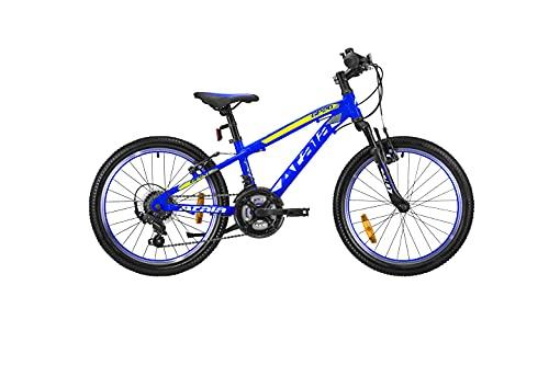 Nuova bicicletta da bambino 2021 Atala GP 20 18V, colore blu opaco, 20', altezza massima 130cm