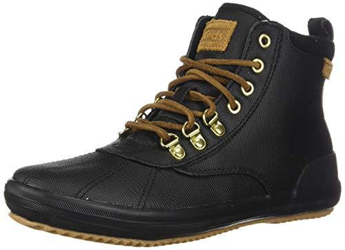 Keds Scout Damen Stiefel, wasserabweisend, Thinsulate, Schwarz (schwarz), 38 EU
