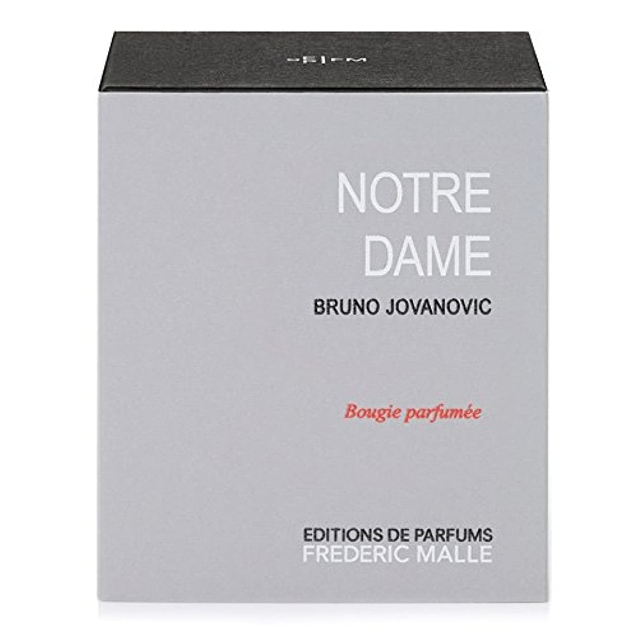 便利さ分布さらにフレデリック?マルノートルダム香りのキャンドル220グラム x6 - Frederic Malle Notre Dame Scented Candle 220g (Pack of 6) [並行輸入品]