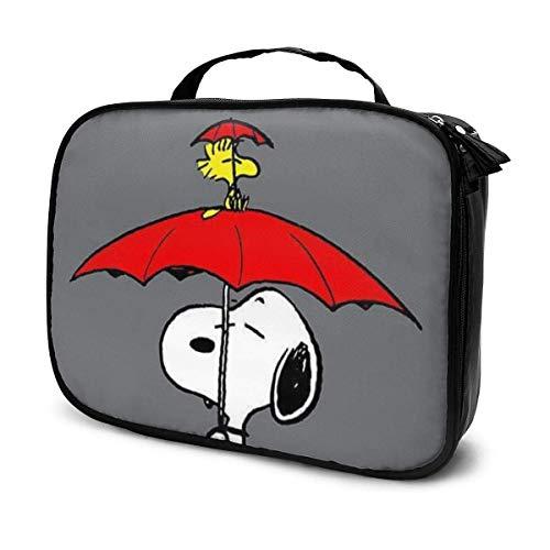 Snoopy, borsa da viaggio per trucco portatile da viaggio, organizer multifunzione