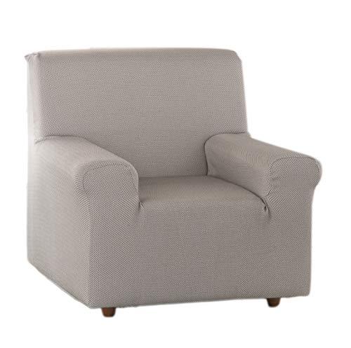 Estoralis Sari Funda de sofá elástica, Tela, Marron, 1 Plaza