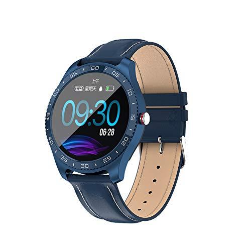 QAK TOUCHO Completo Z11 Smart Watch Tarifa Cardíaca Presión Arterial Monitor De Sueño Mantenimiento Fitness Tracker Sports Watch para Android iOS,A