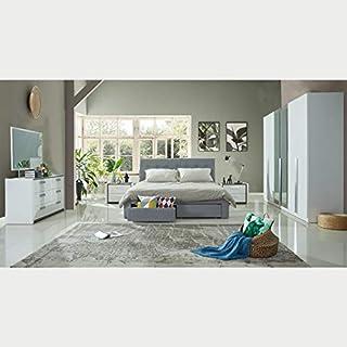 Home Box Elita 5-Piece King Bedroom Set - 180x200 cms