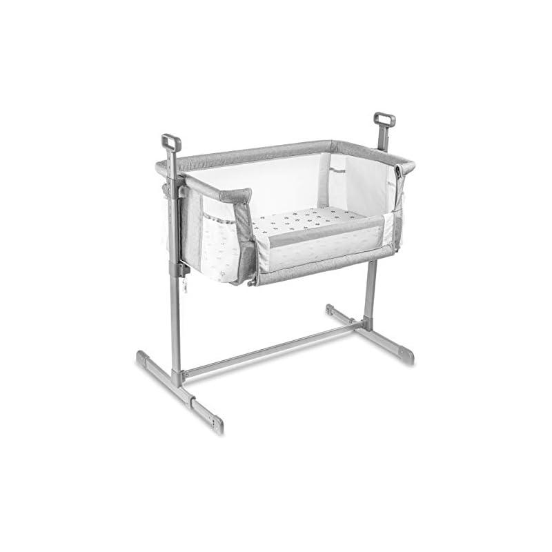 crib bedding and baby bedding milliard bedside bassinet mesh breathable side sleeper/portable infant crib