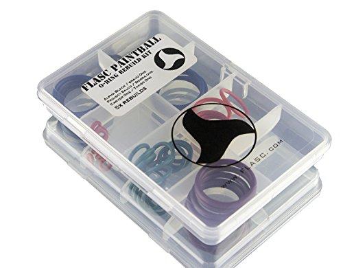 Tippmann Alpha negro/Bravo uno 5x Color Coded Paintball Junta Tórica Kit de reconstrucción por Flasc Paintball