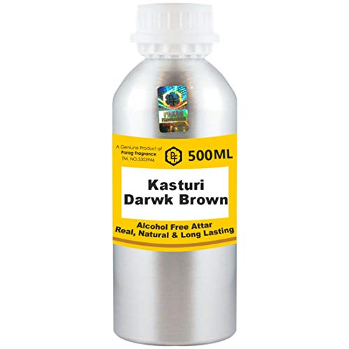 Photo of Parag Fragrances Kasturi Darwk Brown Attar 500ml Wholesale Pack Attar (Alcohol Free, Long Lasting Attar For Men – Women & Religious Use) Worlds Best Attar | Itra | Fragrance Oil | Scent