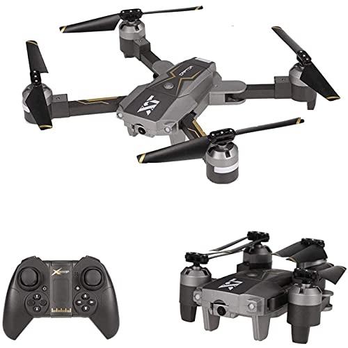 DCLINA Drone con Telecamera grandangolare WiFi FPV Drone Mantenimento dell'altitudine Posizionamento del Flusso Ottico QuadcopterToy Pieghevole Regalo