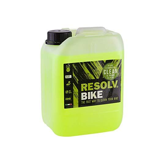 RESOLVBIKE 1501-2 - Bidón Limpiador Clean de 5 litros, Ideal para talleres o Equipos Deportivos