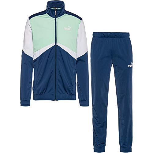 PUMA Herren CB Retro Tracksuit cl Trainingsanzug, Dark Denim, M