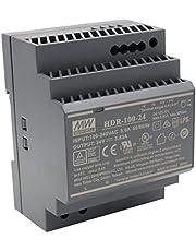 Mean Well HDR-100-24 AC-DC Ultra Slim DIN-rail-voeding, CV
