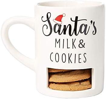 Kate & Milo Santas Milk & Cookies Mug