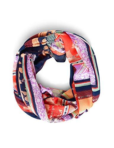 Cecil Damen Loop Mode-Schal, Papaya orange, A