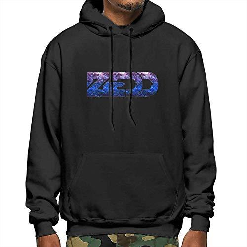 MLTseown lifangtaoT Herren Hoodie Kapuzenpullover, Zedd Men's Polyester Hoodie Pocket Sweater Jackets