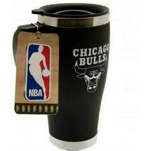 NBA Basketball CHICAGO BULLS Thermobecher Travel Mug Kaffeetasse Tasse