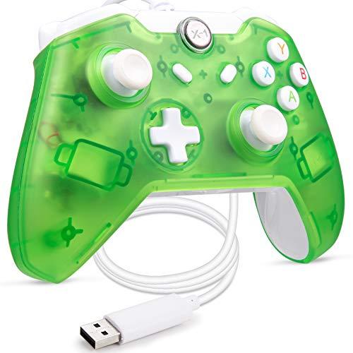 LUXMO PREMIUM Mando USB con cable para Xbox One, mando Xbox 1s,...
