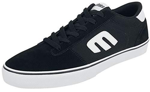 Etnies Calli Vulc, Zapatos de Skate Hombre, Negro y Blanco, 39 EU