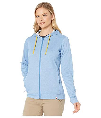 FJALLRAVEN High Coast Lite Hoodie W Sweats Femme, Bleu (River Blue), M
