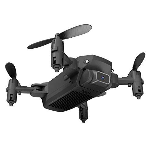 Nobranded 2020 2.4GHz LS MIN RC Drone Kids WiFi 480P Quadcopter + Batería - Black-4k