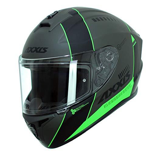 Casco Moto Fluor Marca AXXIS