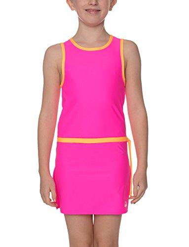 iQ-UV Mädchen UV 300 Tunika Kids, neon-pink, 140/146