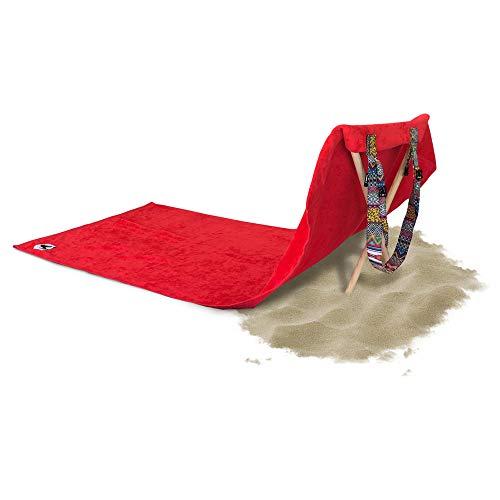 Origama - Toalla de Playa con Respaldo para el Asiento del Sol Tribal Empire Toalla de Playa, Silla de Playa y Tumbona en un Producto.
