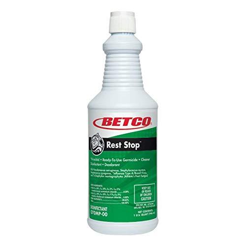 Betco Rest Stop Restroom Cleaner, Citrus Floral Fresh, 1-Quart, Pack of 12 -  Betco Corporation, 0701200
