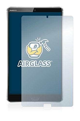 brotect Panzerglas Schutzfolie kompatibel mit Huawei MediaPad M5 8.4 - AirGlass, 9H Härte, Anti-Fingerprint, HD-Clear - 2