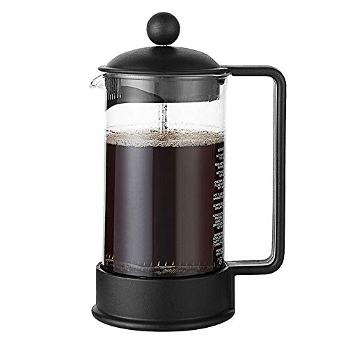 Buy Coffee Press French Pressure Pot Filter Pressure Coffee Hand Made Coffee Filter Cup Filter Coffee Appliance Coffee Maker (Color : Black, Size : 350ml)