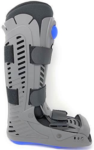 Superior Braces (Size Medium) High Top, Closed Toe, Low Profile Air Pump Medical Orthopedic Walker Boot for Ankle & Foot Injuries, Male Shoe Size 7 1/2 - 10, Female Shoe Size 8 1/2 - 11 1/2
