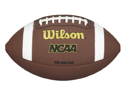 Wilson NCAA K2 Composite Football - Pee Wee