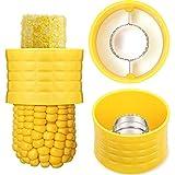 4 Pieces Cob Corn Stripper Corn Stripping Tool Manual Corn Threshing for Removing Kernels from Fresh Corn