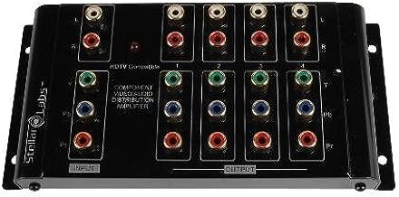 1x4 Component Video Distribution Amplifier / Splitter