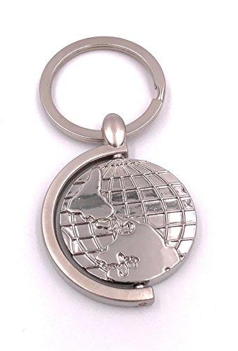 H-Customs Globus Weltkugel Erde Erdkugel Schlüsselanhänger Anhänger