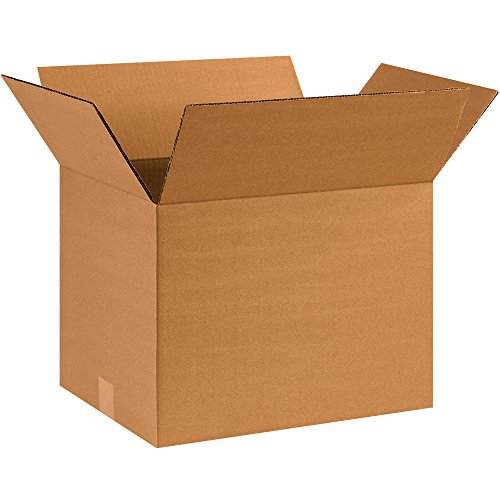Partners Brand P161212 Corrugated Boxes, 16