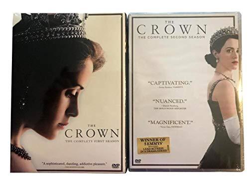 The Crown Season 1 & 2 DVD SET / Season 1-2 DVD SET