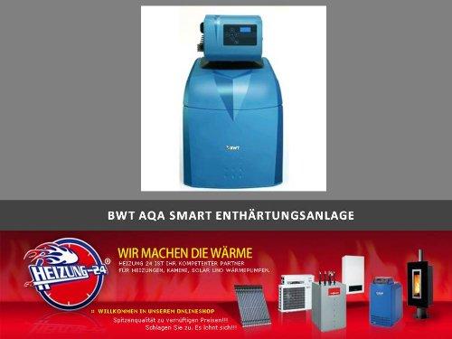 BWT AQA Smart Weichwasseranlage Enthärtungsanlage 11321