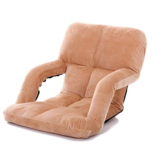 NBVCX Furniture Decoration Camping Chairs Garden Loungers Folding Chair Lazy Couch Sofa Folding Chair Portable 5 File Adjustable Children's Study Chair Comfortable Sofa Recliner (92 × 58 × 12