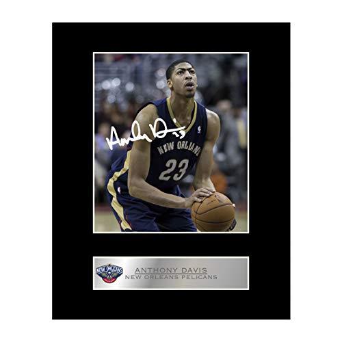 Anthony Davis, con autografo New Orleans Pelicans