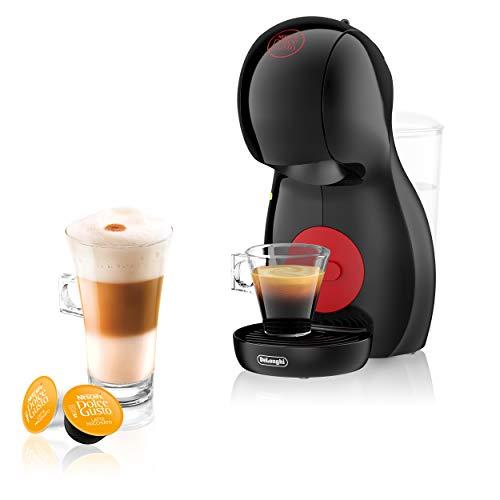 De\'Longhi Nescafé Dolce Gusto Piccolo XS EDG 210.B Kapselmaschine (für heiße und kalte Getränke, 15 bar Pumpendruck, manuelle Wasserdosierung) schwarz