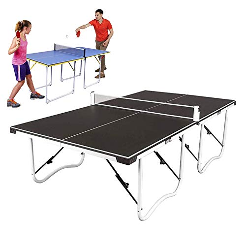 For Sale! 2020 Sports Table Tennis Table,with Quick Clamp Ping Pong Net Set Paddle and Balls,Indoor/...