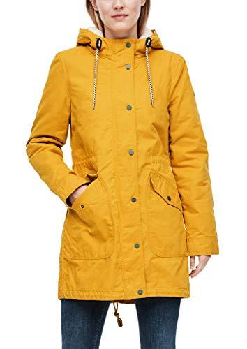 Q/S designed by - s.Oliver Damen 510.12.009.16.151.2039360 Daunenmantel, golden Yellow, XL