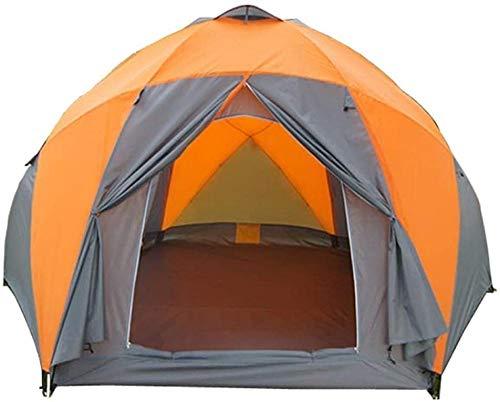 YAYY Dome Tent voor Camping | Automatische Camping Pop-up Tent Outdoor Waterdichte Snelle Opening Tenten 8-9 Persoon Luifel met Draagtas Makkelijk in te stellen (Upgrade)