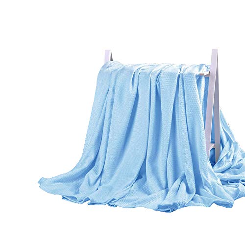 DANGTOP Air Conditioning Cool Blanket with Bamboo Microfiber- All Seasons Thin Quilt for Adults and...