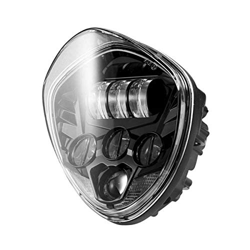 CKQ-KQ Motorcycle 40W LED Headlight High-low Beam Motor Head Lamp Car Koplamp Accessoires