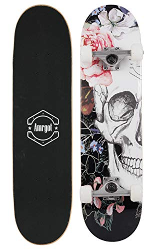 Amrgot Skateboards Pro 31 inches Complete Skateboards (9)