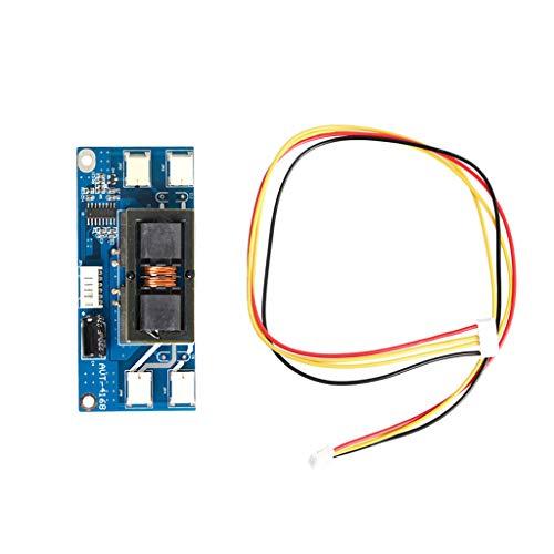 Runrain 4 CCFL Lampe Hintergrundbeleuchtung Universal Laptop LCD Inverter 10-30 V für 15-24 Zoll Bildschirm