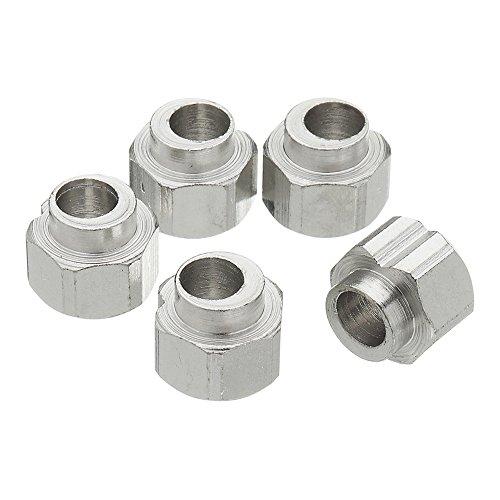 ILS - 5 stuks 5mm bore roestvrij staal excentrische afstandhouder Dado voor V aluminium extruder 3D printer Reprap