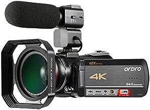 Best 4k video camcorder rraycom Reviews